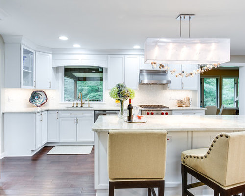 Transitional Kitchen Remodel Pikesville Md By Reico