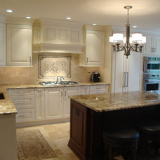 transitional kitchen by Renaissance Kitchen and Home
