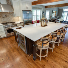 Transitional Kitchen by Reico Kitchen & Bath