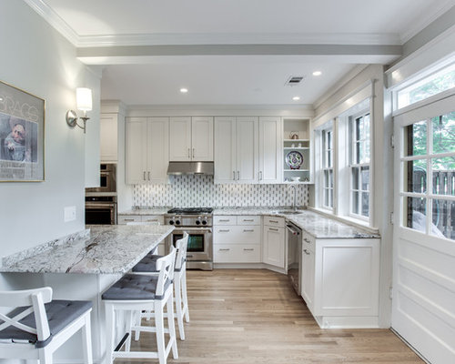 Gorgeous Kitchen Renovation In Potomac Maryland: Transitional Kitchen Remodel Washington, DC By Reico