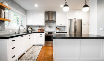 Transitional Kitchen Remodel with  Full Custom Cabinetry