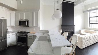 Transitional Kitchen Renovation in Buffalo