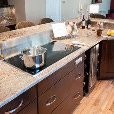 Transitional Kitchen by RI Kitchen & Bath
