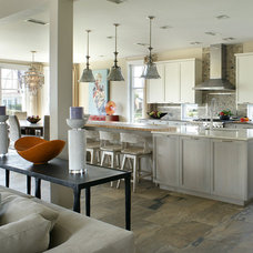 Transitional Kitchen by Robert Legere Design
