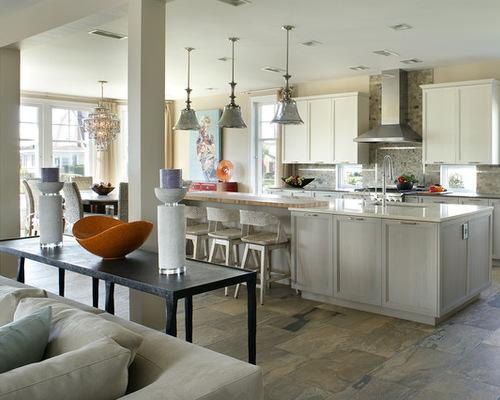 Beach house kitchen designs houzz - Beach house kitchen design ...