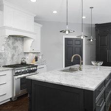 Transitional Kitchen by Silver Leaf Construction & Renovation