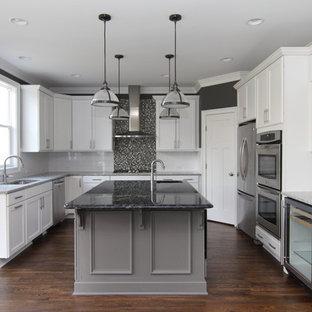 White And Gray Granite Houzz