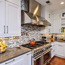 Transitional Kitchen by Studio Stratton Inc
