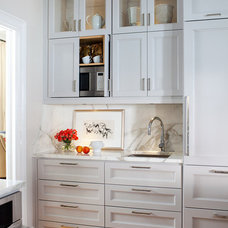 Transitional Kitchen by TerraCotta Studio