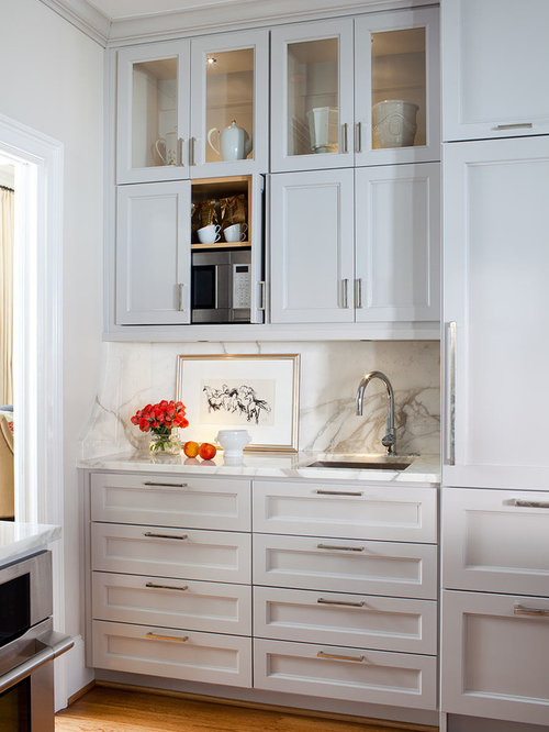 Microwave Cabinet | Houzz