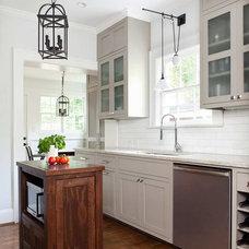 Transitional Kitchen by TerraCotta Studio