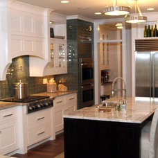 Transitional Kitchen by TruKitchens