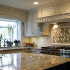 Park Boulevard Traditional Kitchen Chicago By The