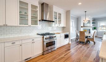 Transitional Kitchen | White On White