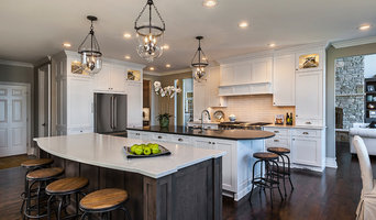 Transitional Kitchen with Double Island