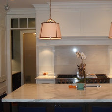 Transitional Kitchen by Kastel Kitchen Gallery, LLC