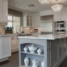 Transitional Kitchen by Cabinetry Essence