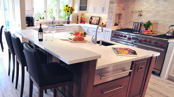 Transitional Mediterranean Kitchen