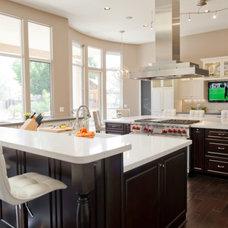 Contemporary Kitchen by Danielle Jacques Designs LLC
