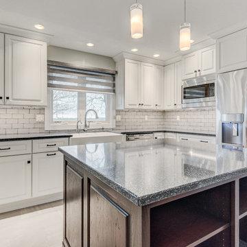 Transitional Modern Kitchen/Pantry/Wetbar Paxton