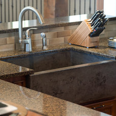 Contemporary Kitchen Sinks by Panageries