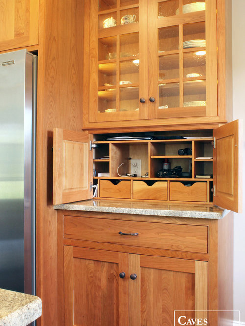 Natural Cherry Kitchen Cabinets
