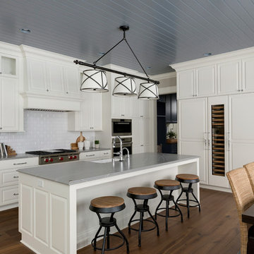 Transitional New Home Construction