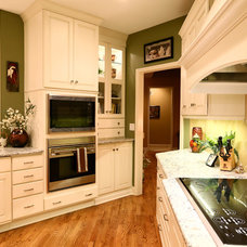 Transitional Kitchen by Armstrong Kitchens, Inc