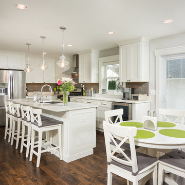 Transitional Open Concept Full Home Remodel