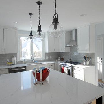 Transitional Open Kitchen