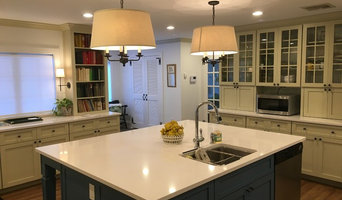 Transitional Painted Kitchen