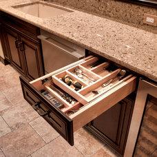 Transitional Kitchen by ProSource Wholesale