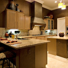 Transitional Kitchen by D3 Interiors