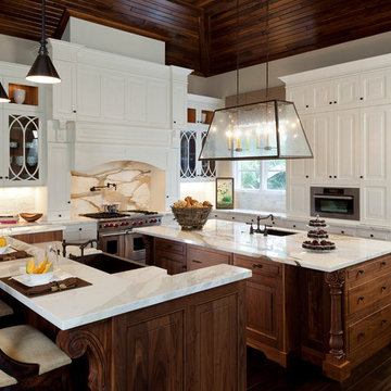 Transitional Rustic Kitchen