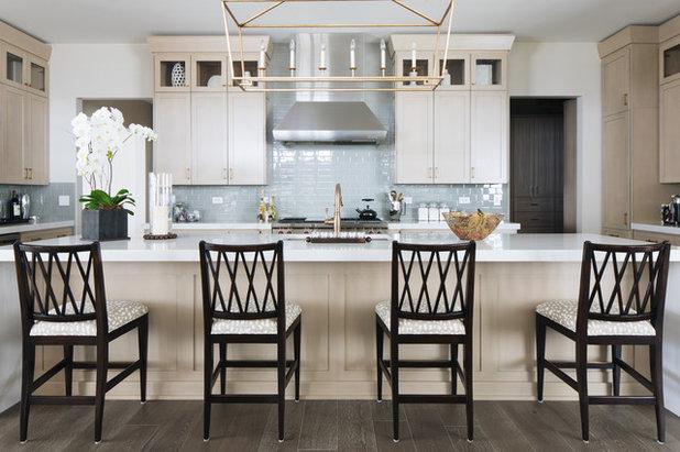 Transitional Kitchen by Interior Design Partnership