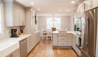 Transitional Summerstorm Kitchen Remodel with 1st floor wood flooring