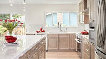 Transitional Sunnyvale Kitchen