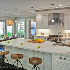 Transitional Kitchen by Holly Bender Interiors