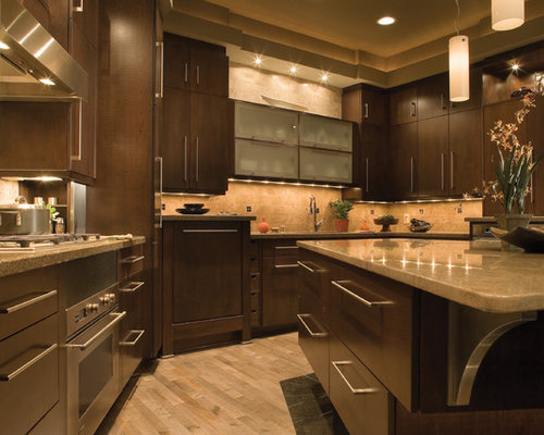Houzz | Transitional Kitchen Cabinets Design Ideas & Remodel Pictures