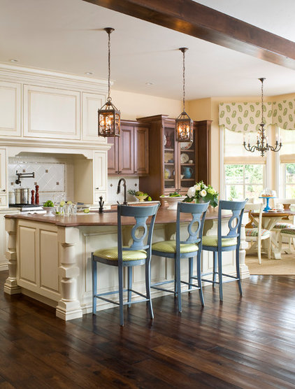 Transitional Kitchen by Design Transformations