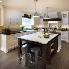 Transitional Kitchen by TrueLeaf Kitchens