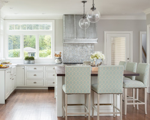 Portland maine kitchen ideas inspiration with quartz worktops - Kitchen design portland maine ...