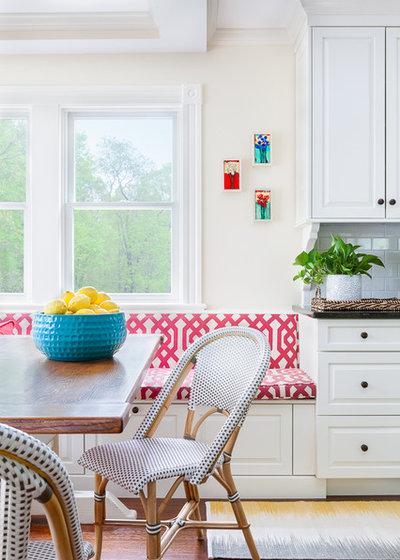 Eclectic Kitchen by Jamie Keskin Design