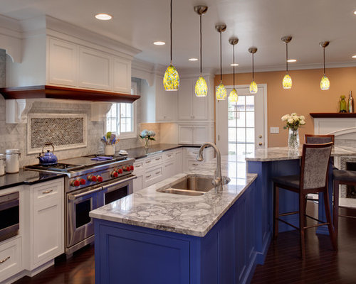 nh kitchen cabinets white and blue kitchen houzz 1094