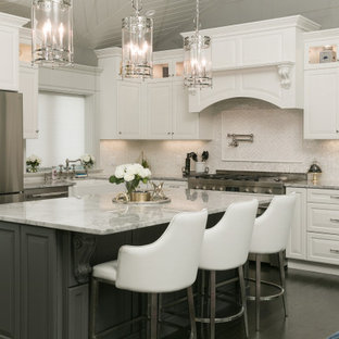 Transitional White and Gray