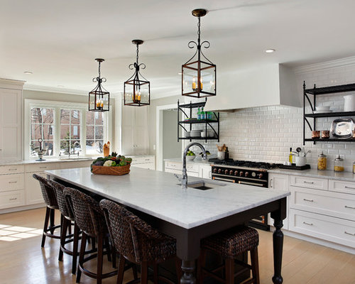 Bright White Cabinets Ideas, Pictures, Remodel and Decor