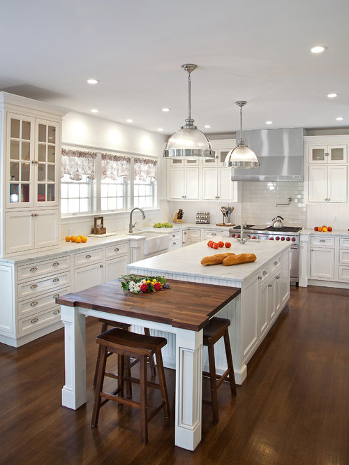 Kitchen island extension ideas houzz for Kitchen design houzz