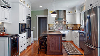 Transitional White Kitchen Remodel