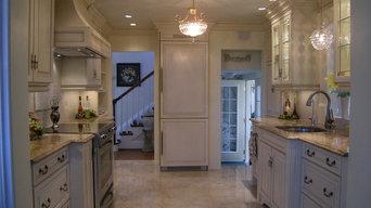 Transitional White Kitchens