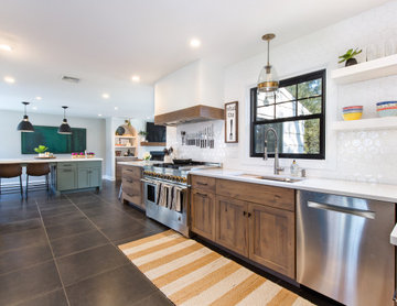 Transitional with a Twist Kitchen